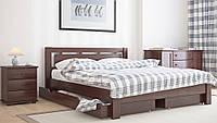 """Кровать двуспальная деревянная """"Л-210"""""""