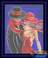 Схема для полной вышивки бисером - Влюбленная пара, Арт. ЛБп3-14