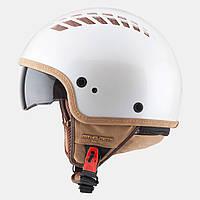 """Мотошлем MT-Helmets COSMO Pearl White """"XS-M"""""""