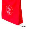 Складная сумка для покупок/Shopper bag эконом (красный), фото 3