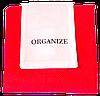 Складная сумка для покупок/Shopper bag эконом (красный), фото 4