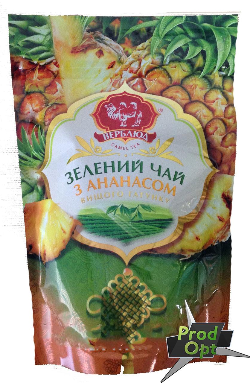 Чай зелений Верблюд з Ананасом 80 г м/у