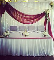 Украшение свадебного зала в г. Белая Церковь