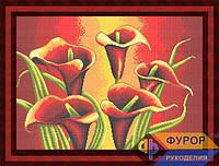 Схема для вышивки бисером - Цветы каллы, Арт. НБп2-11-2