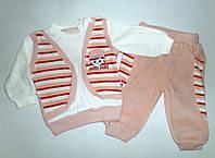 Велюровый Костюм  рост 68,74,80,86 см.  Детская одежда оптом Турция.