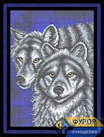 Схема для вышивки бисером - Пара волков, Арт. ЖБп4-36-1