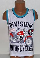Детская одежда оптом из Турции. Майка трикотажная для мальчиков 3,4,5,6,7 лет (полномер)100 % хлопок