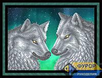 Схема для вышивки бисером - Волки, Арт. ЖБч4-39