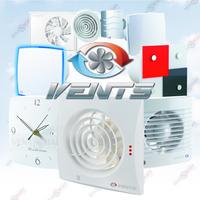 Бытовые приточно-вытяжные вентиляторы ВЕНТС (VENTS, Украина)