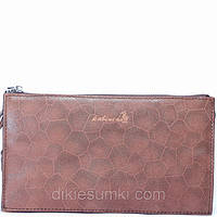 Мужская сумка борсетка Kabinias кожа светло - коричневого цвета