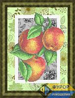Схема для вышивки бисером - Кухонный натюрморт персики на ветке, Арт. НБч4-71-2