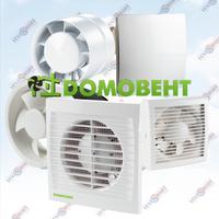 Вентиляторы бытовые ДОМОВЕНТ (Украина)