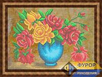 Схема для вышивки бисером - Букет прекрасных роз, Арт. НБч3-82-1