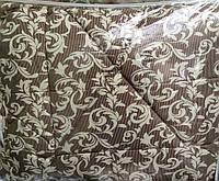 Двухспальное одеяло овечья шерсть + сатин по низким ценам оптом и в разницу, фото 1
