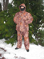 Зимний костюм для охоты и рыбалки Лес 3D теплый водоотталкивающий