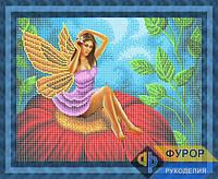 Схема для вышивки бисером - Фея на цветке, Арт. ФБч3-4-2