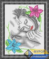 Схема для полной вышивки бисером - Влюбленная пара, Арт. ЛБп3-24-1