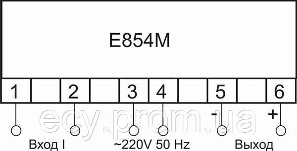 Е854 М/2 - измерительный преобразователь переменного тока , фото 2