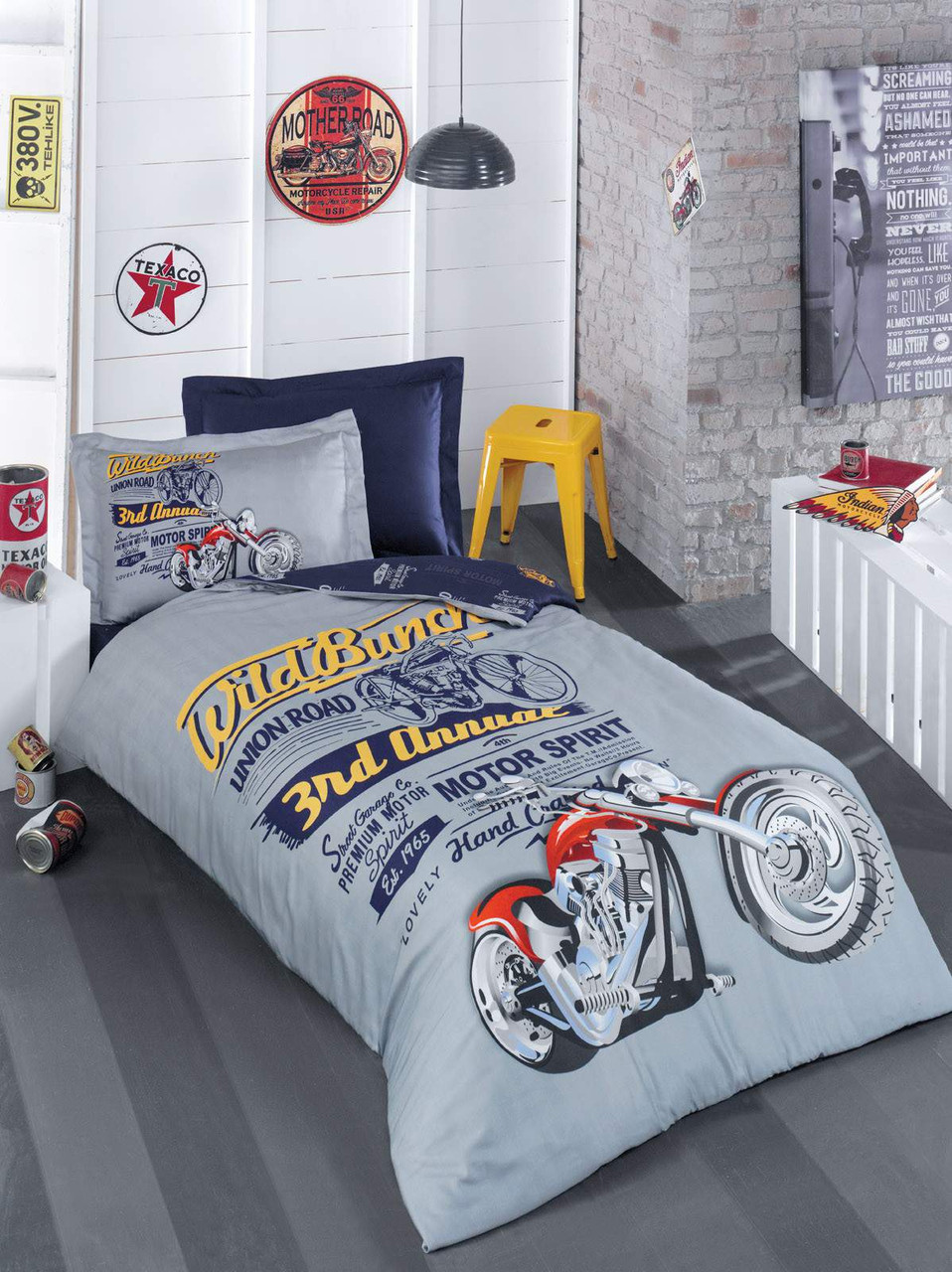 Подростковый постельный комплект Biker, Luoca Patisca