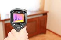 Тепловизионное обследование дома, квартиры. Окна как основные источники потерь
