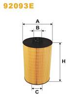 Фильтр масляный WIX 92093E МАН ТГХ Евро 4/5 (MAN TGX) 51055040108