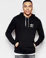 Мужская толстовка с капюшоном Adidas черная