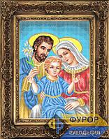 Схема иконы для вышивки бисером - Святое семейство, Арт. ИБ3-031-1