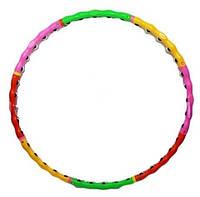 Обруч hula-hoop (Хула Хуп) 8 секций (ёжик -шарик)