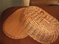 Хлебница плетенная из лозы