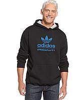 Худи Adidas, Мужская толстовка Адидас черная
