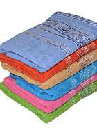 Банное полотенце с узором