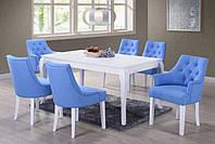 Обеденный стол Тиффани, нераскладной белый, 1600*900*755