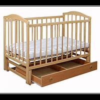 Кроватка Laska Чайка с ящиком и маятником