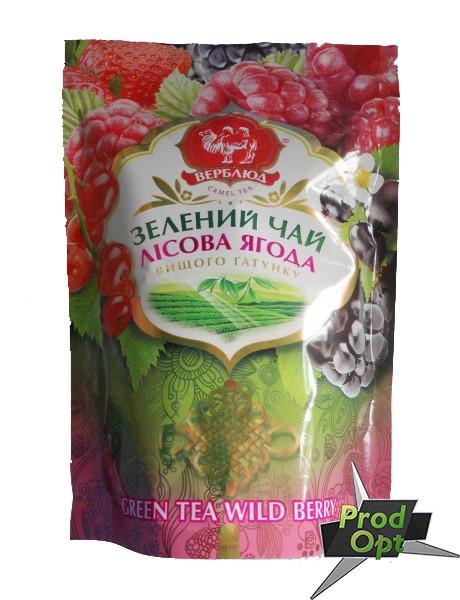 Чай зелений Верблюд з лісовими ягодами 80г м/у