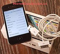 IPhone 4s 16Gb R-SIM Черный Отличное состояние Айфон 4s