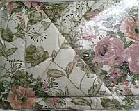 Теплое одеяло овечья шерсть + сатин высокого качества, фото 1
