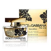 Dolce & Gabbana The One Lace Edition Парфюмированная вода 75 ml