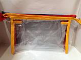 Косметичка прозора розмір L, фото 2