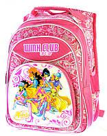 Ранец Рюкзак Disney школьный ортопедический  Винкс 16-2224-3