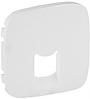 Лицевая панель телефонной / компьютерной RJ11/RJ45 розетки белая 755415 Legrand Valena Allure