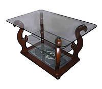 Стеклянный журнальный столик Шедевр ДС-15
