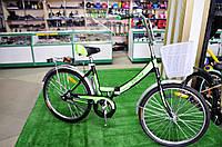 """Складной велосипед Десна 24"""" зеленый"""