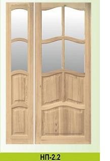 Міжкімнатні соснові двері
