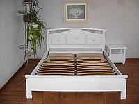 """Кровать белая двуспальная """"Миледи"""""""