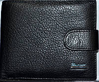 Мужские кошельки и портмоне из натуральной кожи PrenSiti (черный)