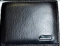 Мужские кошельки и портмоне из натуральной кожи PrenSiti (черный), фото 1