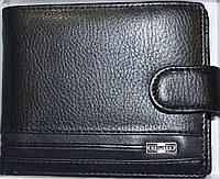 Мужские кошельки и портмоне кожаные MeiliGer (2 цвета) ЧЕРНЫЙ