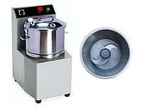 Куттер для измельчения нарезки мяса, овощей, фруктов 10 л 47 кг 1,5 кВт