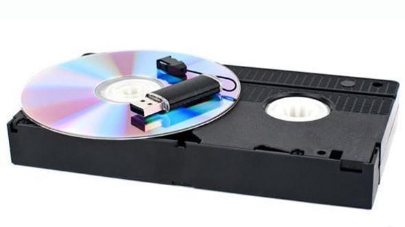 Переписать видео с кассеты на диск в Днепре