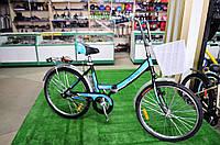 """Складной велосипед Десна 24"""" синий"""